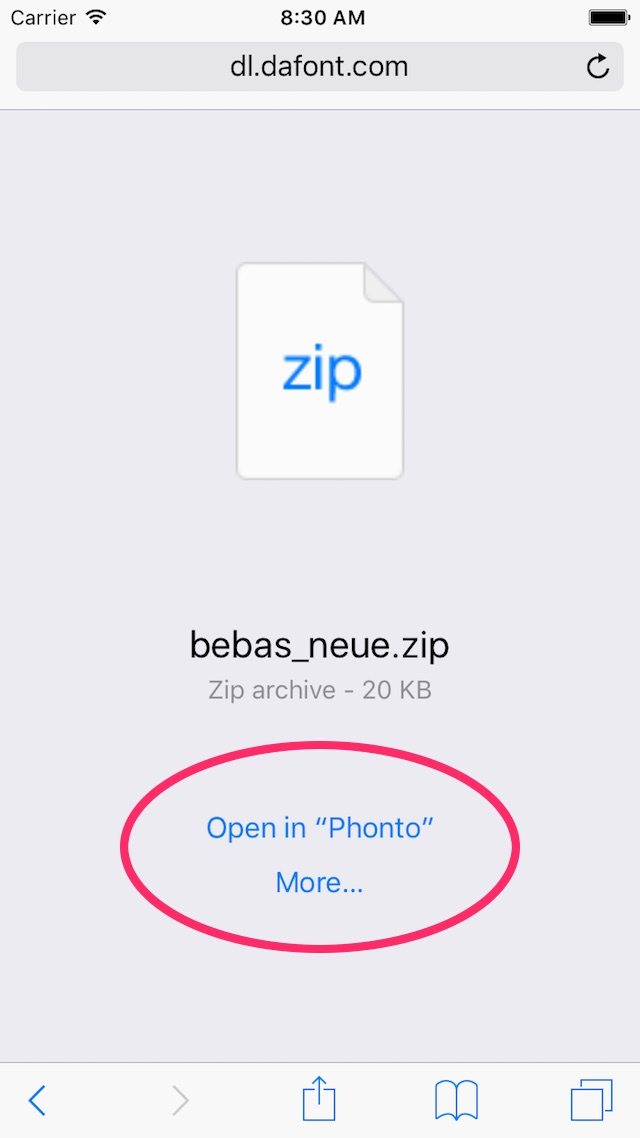 How to Install Fonts into Phonto for iOS